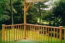 Cedar Deck, Rail, and Pergola, Eastchester
