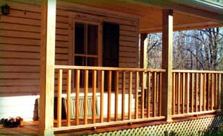 Cedar Deck Porch, Somers